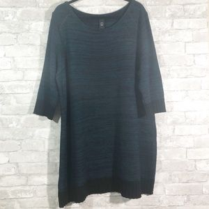 Lane Bryant 3/4 Sleeve Knit Dress